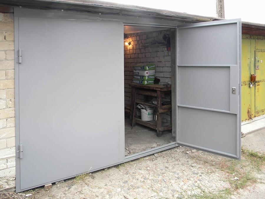Металлические двери для гаража какую лучше купить тепловую пушку в гараж